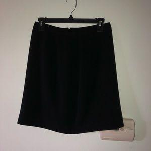 Black Mini Skirt From Ann Taylor